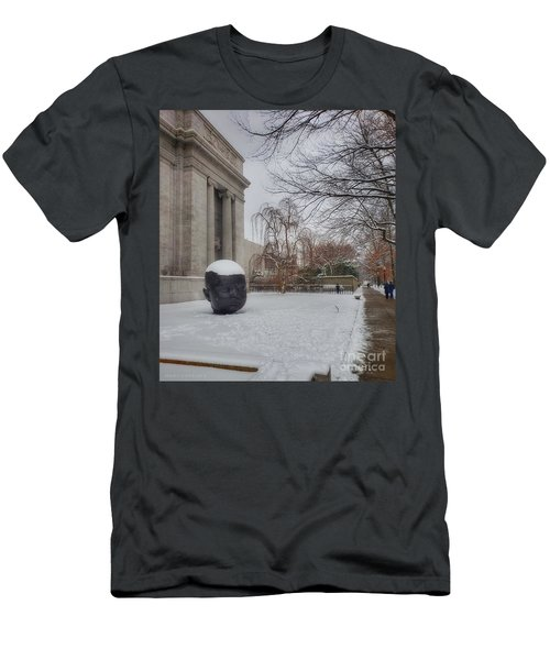 Mfa Boston Winter Landscape Men's T-Shirt (Athletic Fit)