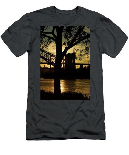 Mid Autumn Silhouette Men's T-Shirt (Athletic Fit)
