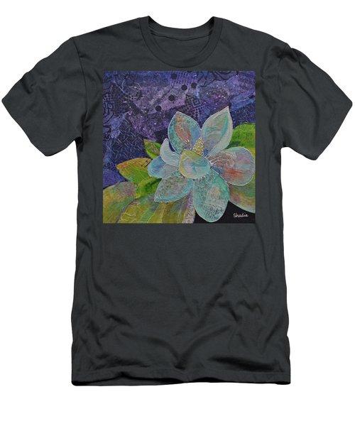 Midnight Magnolia II Men's T-Shirt (Athletic Fit)