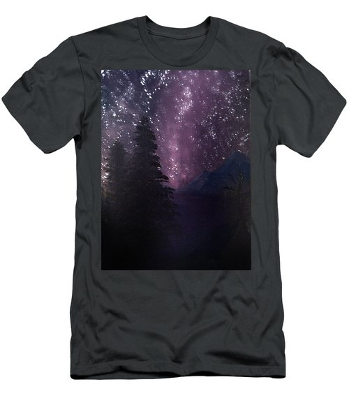 Milky Way Lake Men's T-Shirt (Athletic Fit)