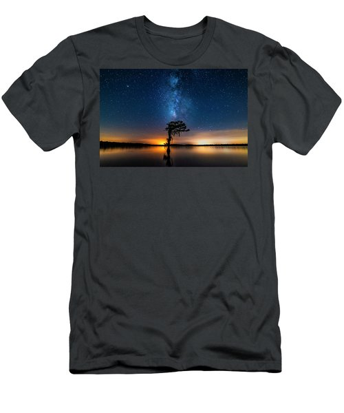 Milky Way Swamp Men's T-Shirt (Athletic Fit)