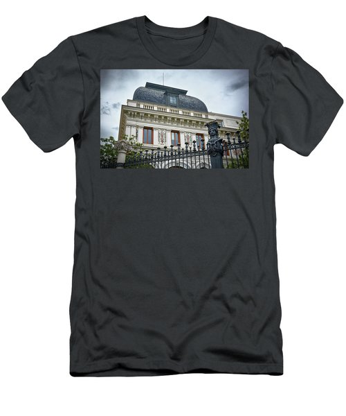 Ministry Of Agriculture Building Of Madrid Men's T-Shirt (Athletic Fit)