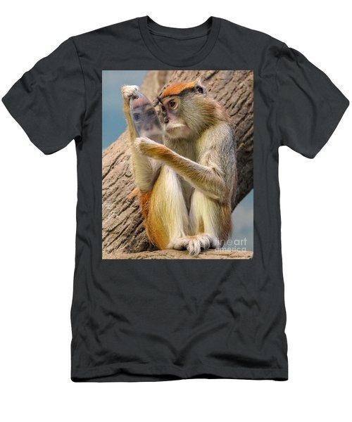 Mirror Selfie Men's T-Shirt (Athletic Fit)