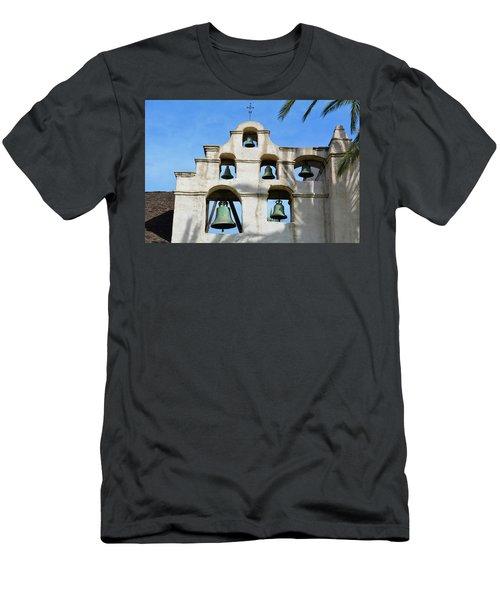 Mission San Gabriel Bells Men's T-Shirt (Athletic Fit)