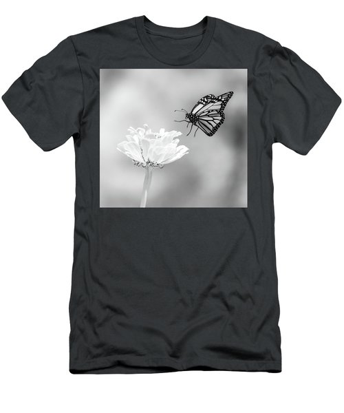 Men's T-Shirt (Athletic Fit) featuring the photograph Monarch In Infrared 6 by Brian Hale