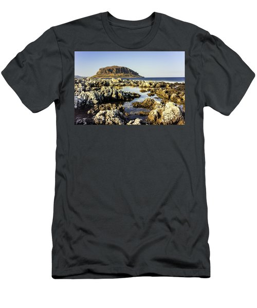 Monemvasia Rock Men's T-Shirt (Athletic Fit)