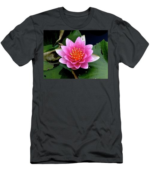 Monet Water Lilly Men's T-Shirt (Athletic Fit)