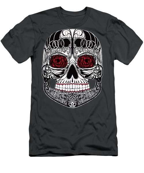 Monika's Sugar Skull Men's T-Shirt (Athletic Fit)