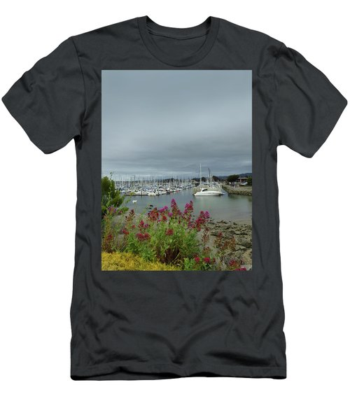 Monterey Harbor  Men's T-Shirt (Athletic Fit)