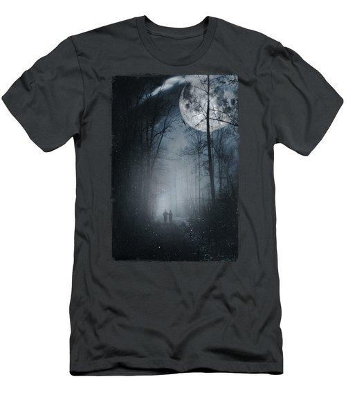 Moon Walkers Men's T-Shirt (Athletic Fit)