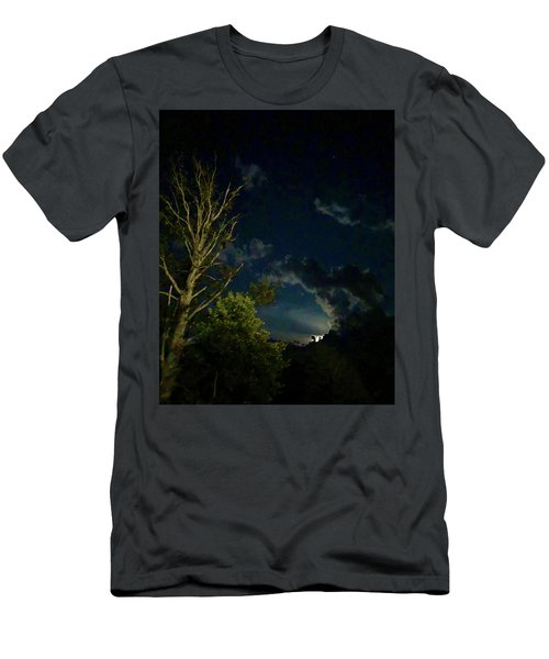 Moonlight In The Trees Men's T-Shirt (Athletic Fit)