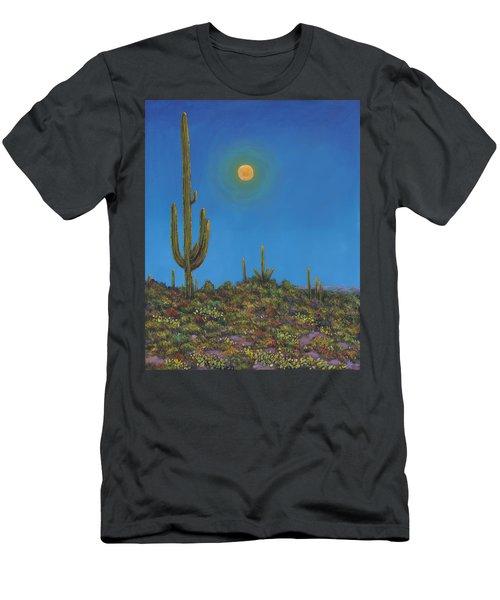 Moonlight Serenade Men's T-Shirt (Athletic Fit)
