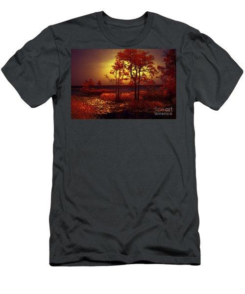 Moonlit Night Men's T-Shirt (Athletic Fit)