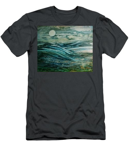 Moonlit Storm Men's T-Shirt (Athletic Fit)
