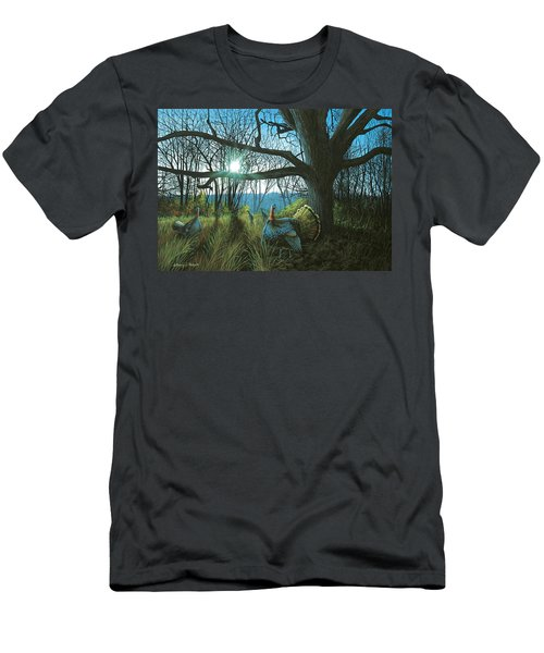 Morning Chat - Turkey Men's T-Shirt (Athletic Fit)