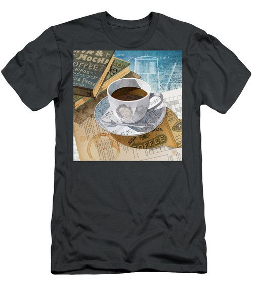 Morning Coffee Men's T-Shirt (Athletic Fit)