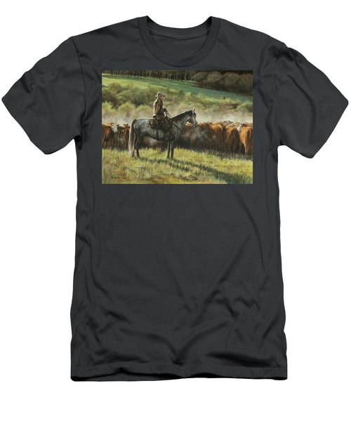 Morning In The Highwoods Men's T-Shirt (Athletic Fit)