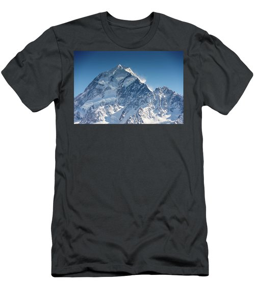 Mount Cook Aoraki Summit Ridge Men's T-Shirt (Athletic Fit)