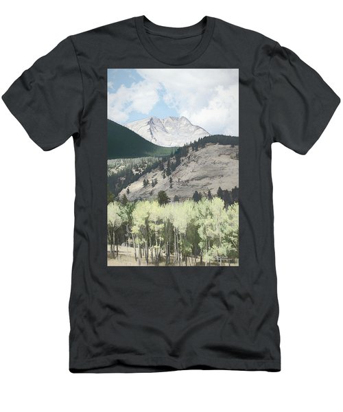 Mount Ypsilon Men's T-Shirt (Athletic Fit)