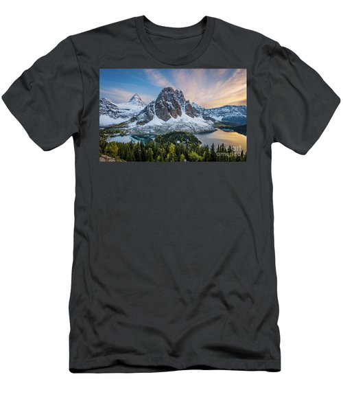 Mt Assinniboine Sunset Men's T-Shirt (Athletic Fit)