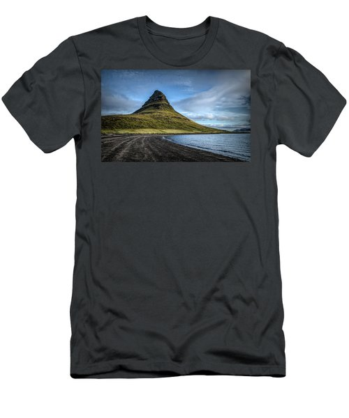 Mt Kirkjufell Men's T-Shirt (Athletic Fit)
