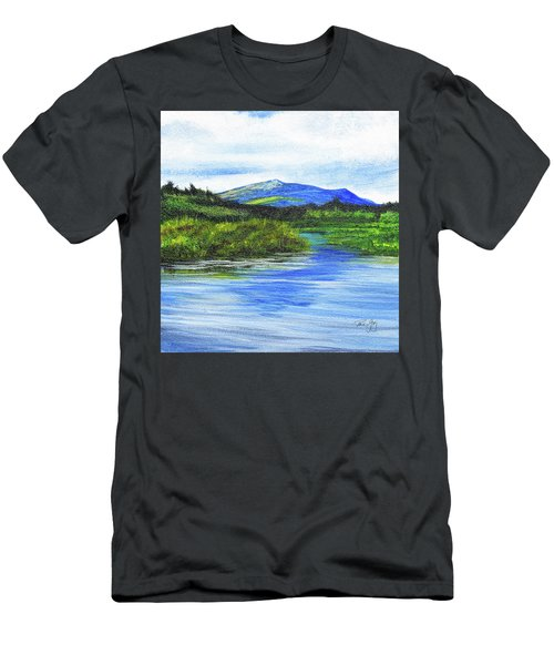 Mt. Monandnock From Scott Brook Men's T-Shirt (Athletic Fit)