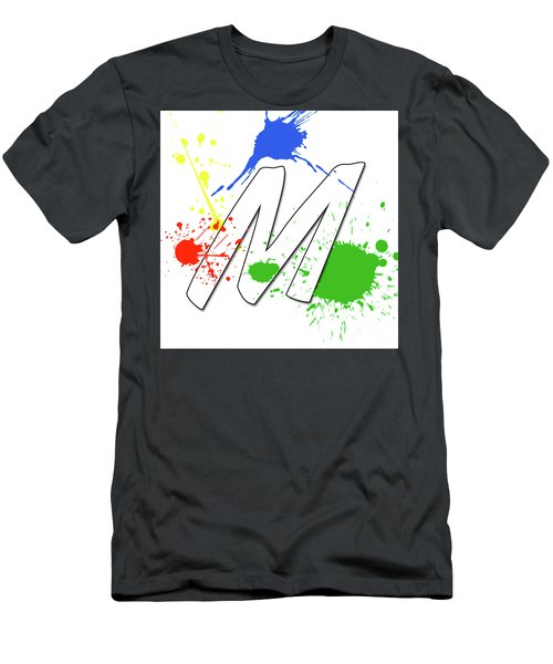 Men's T-Shirt (Athletic Fit) featuring the digital art MTM by Meet the Masters