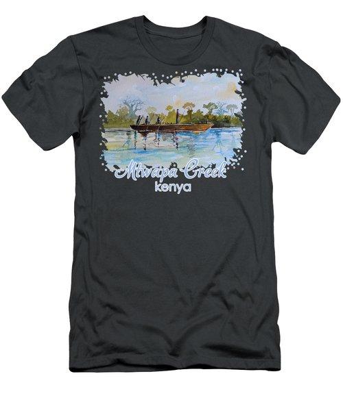 Mtwapa Creek Kenya Men's T-Shirt (Athletic Fit)