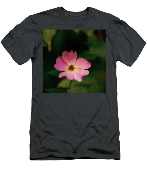 Multi Floral Rose Flower Men's T-Shirt (Athletic Fit)
