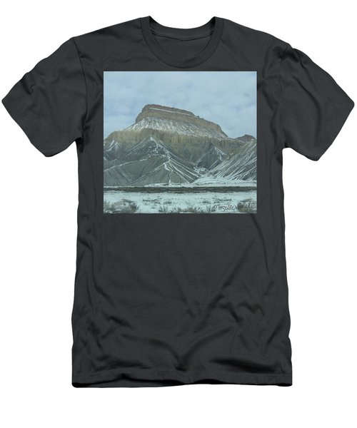 Multi-level Mountains Men's T-Shirt (Athletic Fit)