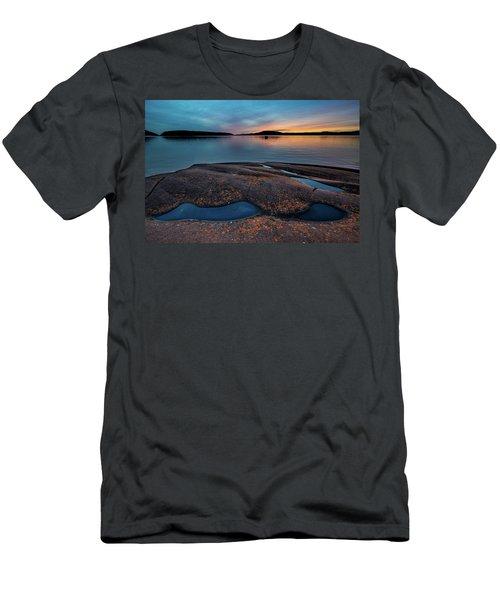 Mystic Pools Men's T-Shirt (Athletic Fit)