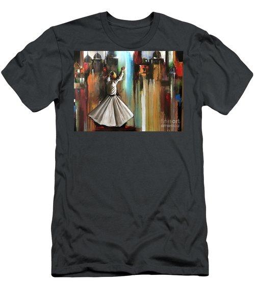 Mystical Journey  Men's T-Shirt (Athletic Fit)