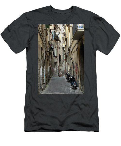 Naples Street Men's T-Shirt (Athletic Fit)