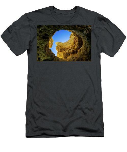 Natural Skylight Men's T-Shirt (Athletic Fit)