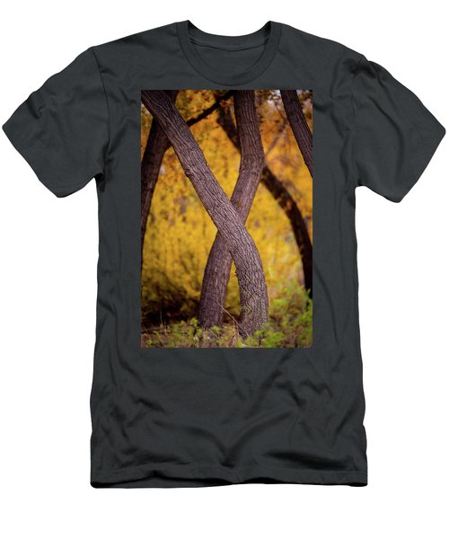 Men's T-Shirt (Athletic Fit) featuring the photograph Nature's Font by Jeff Phillippi