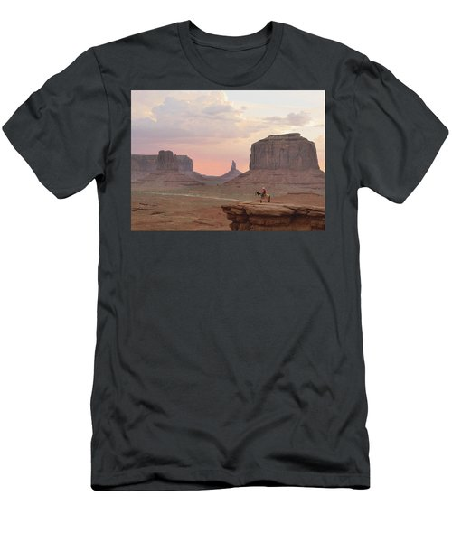 Navajo Rider  Men's T-Shirt (Athletic Fit)