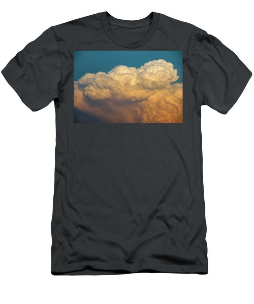 Nebraska Sunset Thunderheads 053 Men's T-Shirt (Athletic Fit)
