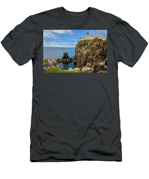 Neist Point Lighthouse Men's T-Shirt (Athletic Fit)