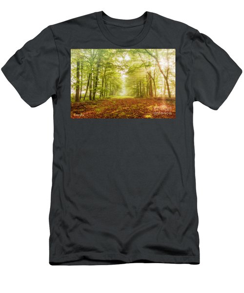 Neither Summer Nor Winter But Autumn Light Men's T-Shirt (Athletic Fit)