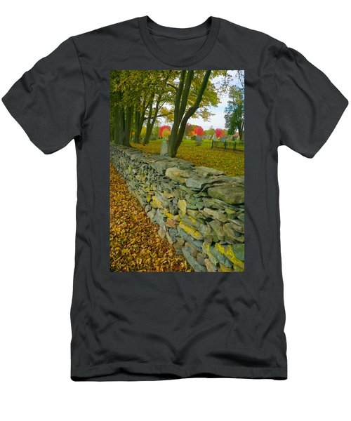 New England Stone Wall 2 Men's T-Shirt (Athletic Fit)