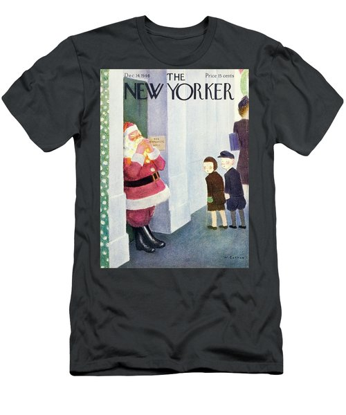 New Yorker December 14th 1946 Men's T-Shirt (Athletic Fit)