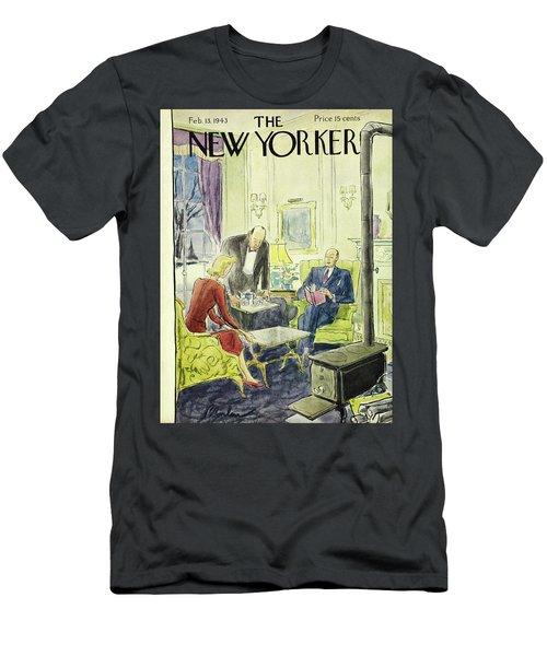 New Yorker February 13th 1943 Men's T-Shirt (Athletic Fit)