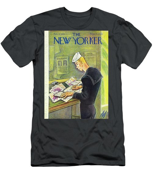 New Yorker February 14th 1942 Men's T-Shirt (Athletic Fit)