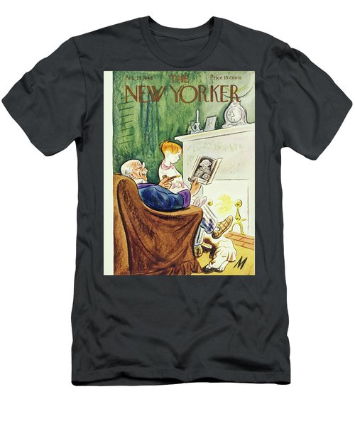 New Yorker February 23rd 1946 Men's T-Shirt (Athletic Fit)
