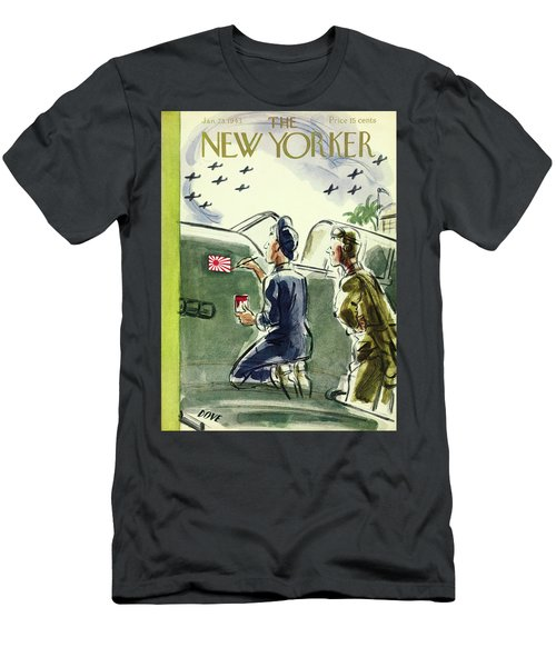 New Yorker January 23rd 1943 Men's T-Shirt (Athletic Fit)