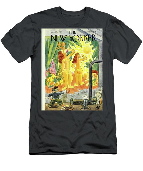 New Yorker January 25th 1947 Men's T-Shirt (Athletic Fit)