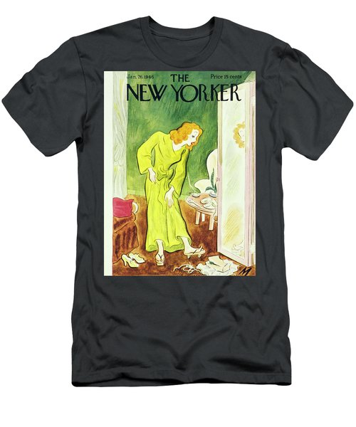 New Yorker January 26th 1946 Men's T-Shirt (Athletic Fit)