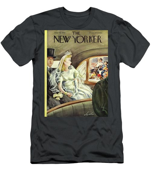 New Yorker June 20th 1942 Men's T-Shirt (Athletic Fit)