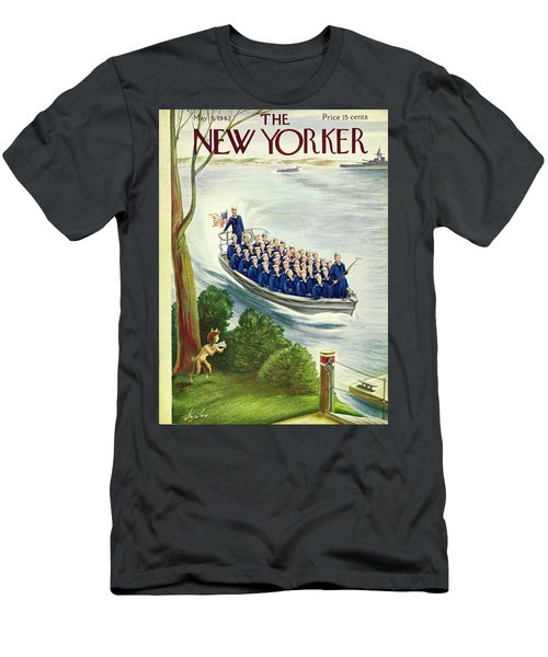 New Yorker May 9th 1942 Men's T-Shirt (Athletic Fit)
