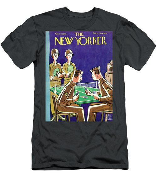 New Yorker October 2nd 1943 Men's T-Shirt (Athletic Fit)